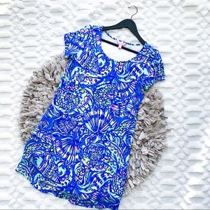 Lilly Pulitzer Tammy Dress in Blue Print